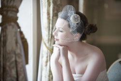 ein Birdcage-Fascinator ist nur eine Form der Braut-Accessoires