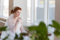 schmeichelnde Silhouetten bei Brautkleidern für große Größen