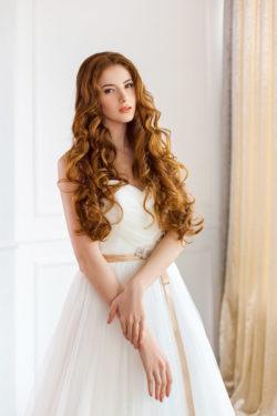 Brautkleid in A-Linien Schnitt