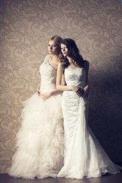 diverse Schnitte und Stilrichtungen aus unserem Brautsalon
