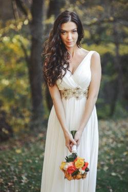 ein Brautkleid für eine Göttin