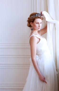günstige Brautmode mit Tüll