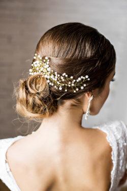 Vintage Haarschmuck für die Braut