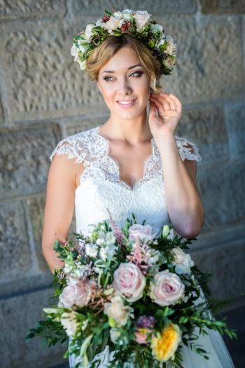 Das Atelier Zauberhaft - Boho Hochzeitskleid