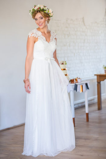 Das Atelier Zauberhaft - Brautkleider Vintage Spitze