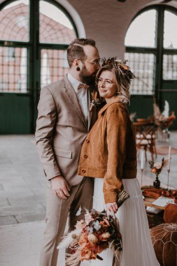 Das Atelier Zauberhaft - Vintage Brautpaar